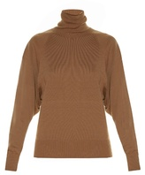 The Row Teresa roll-neck sweater