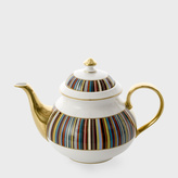 Paul Smith for Thomas Goode - Signature Stripe Bone-China Teapot