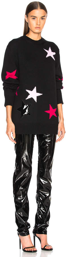 Givenchy Star Print Crewneck Sweater