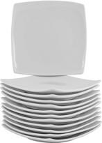 10 Strawberry Street 12-pc. Square Appetizer Plate Set