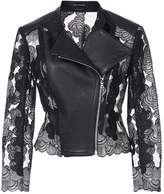 Yigal Azrouel panelled moto jacket