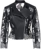 Yigal Azrouel panelled moto jacket