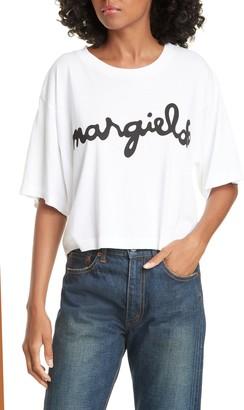 MM6 MAISON MARGIELA Logo Crop Tee