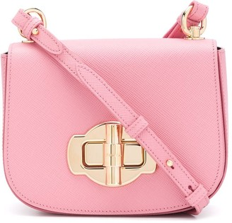 Prada Turnlock Clasp Crossbody Bag