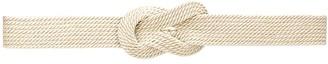 Alberta Ferretti Woven Fabric Belt