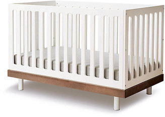 Oeuf Classic Crib - Walnut/White