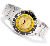 Croton Men's Quartz Stainless Steel Bracelet 44mm Dial 20 ATM Watch CA301228SSYL