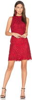 Parker Caddie Dress in Red