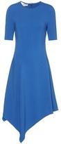Stella McCartney Asymmetrical crêpe dress