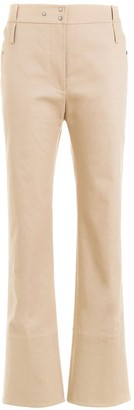 Gloria Coelho Tailored Cropped Trousers