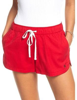 Roxy New Impossible Love (Ivory Cream) Women's Shorts