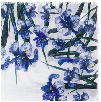 Faliero Sarti Floral-Print Scarf