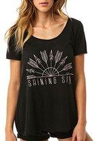 O'Neill Junior's Shining Sun Sunrise Scoop Neck Graphic Tee