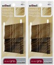 Scunci No Slip Grip Bobby Pins, Blonde, 48 ct, 2 pk