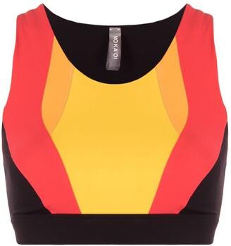 NO KA 'OI Colour-Block Sports Bra