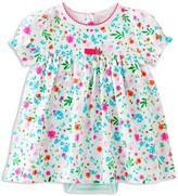 Kate Spade Girls' Floral Bodysuit Dress