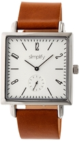 Simplify The 5000 Silver Dial Watch, 38mm