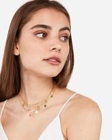 Express Seven Row Drop Choker Necklace