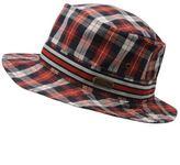 No Fear Mens Check Bucket Hat Summer Sun Protection Headwear Accessories