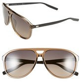 Christian Dior Men's 60Mm Sunglasses - Brown Transparent