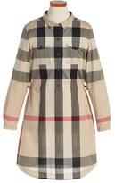Burberry Girl's 'Darielle' Check Print Dress