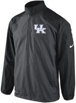 Nike kentucky wildcats lockdown 1/2-zip performance jacket - men