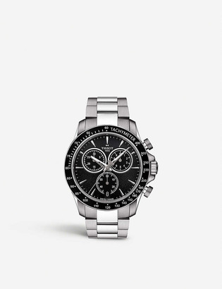 Tissot T106.417.11.051.00 V8 stainless steel chronograph watch