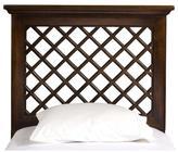 Hillsdale Furniture Kuri Headboard without Rails - Light Walnut - Twin