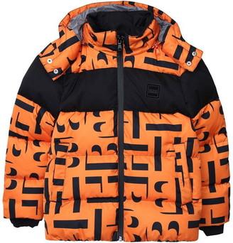 HUGO BOSS Kids Boy Orange Jackets
