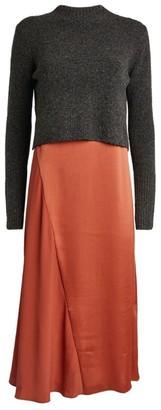 AllSaints Ageta Two-In-One Dress