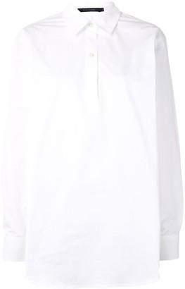 Sofie D'hoore Long Sleeve Polo-Style Shirt