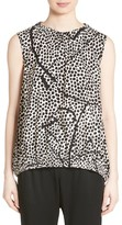 Zero Maria Cornejo Women's Elliott Dot Ruched Bubble Top