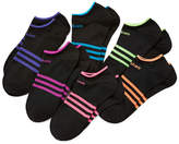 adidas 6-pk. Superlite Low-Cut Socks - Girls