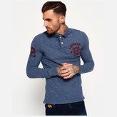 Superdry Men's Super State Long Sleeve Polo Shirt
