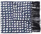 E. Tautz printed scarf