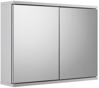 Croydex Simplicity Double Door Bathroom WallCabinet