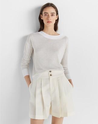 Club Monaco Linen Boatneck Sweater