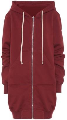 Rick Owens DRKSHDW cotton jersey hoodie