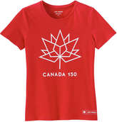 Joe Fresh Women's Canada 150 Tee, Red (Size L)