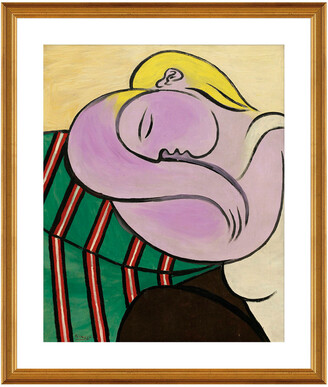 McGaw Graphics Woman With Yellow Hair (Femme Aux Cheveux Jaunes) By Pablo Picasso