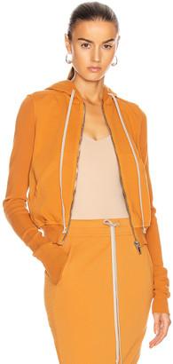 Rick Owens Hoodie in Tangerine | FWRD