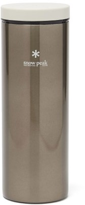 Snow Peak Kanpai Insulated Stainless-steel 500ml Bottle - Silver