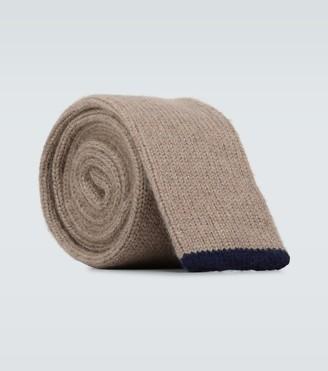 Brunello Cucinelli Cashmere knitted tie