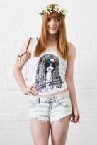 Lauren Moshi Hippie Girl Swing Tank in White