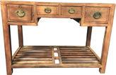 One Kings Lane Vintage Bleached Elm Ming-Style Desk