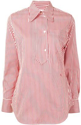 Victoria Beckham Vertical-Stripe Shirt