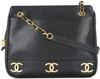 Chanel Pre-Owned 1991-1994 logo chain shoulder bag