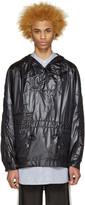 SASQUATCHfabrix. Black Nylon Pullover Jacket