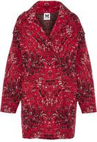 M Missoni Oversized Jacquard-Knit Wool-Blend Coat