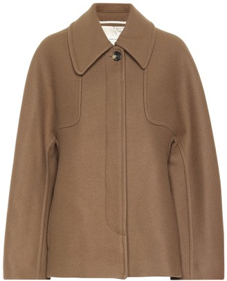 Dries Van Noten Wool-blend coat